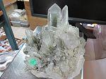 Gerbe de quartz avec chlorite extra