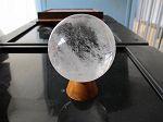 Sphere cristal de roche