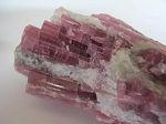 Tourmaline rose gerbe Rubellite