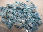 apatite bleue en sable